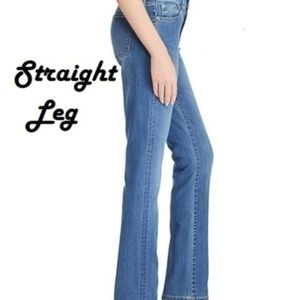 LRL High Waisted Mom Jeans Size 4